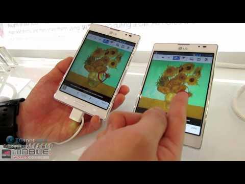 LG Optimus Vu II | MWC 2013