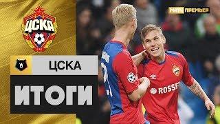 «ЦСКА»: итоги первой части сезона
