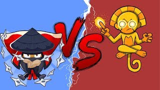 Grandmaster Ninja VS Sun Avatar