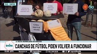 Canchas de fútbol amateur de Córdoba piden volver a funcionar