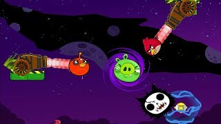 Angry Birds Collection Cannon 5 - FORCE THE PIGGIES TO ELECTRIC IN SPACE!