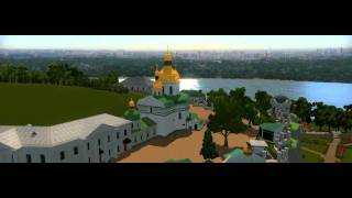 Interactive 3D-model of Kiev Pechersk Lavra, Ukraine(, 2011-08-30T16:50:54.000Z)