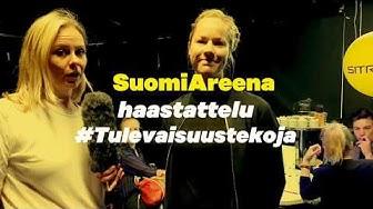 #Tulevaisuustekoja: Vasemmistoliiton kansanedustaja Hanna Sarkkinen