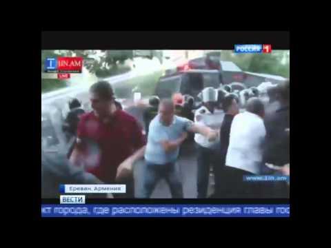 Вот кто главные провокаторы (Вести 22 06 2015 Ереван)
