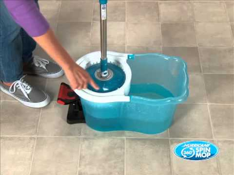 Spin Mop Instructional Video Youtube