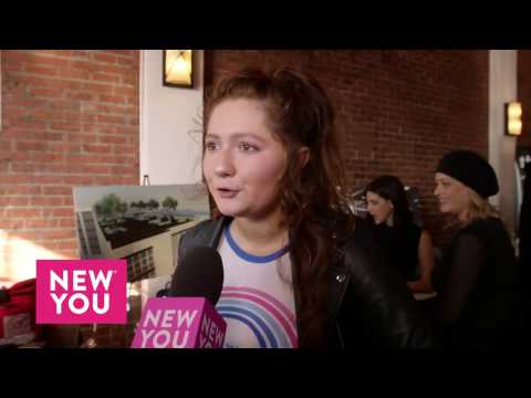 Emma Kenney at GBK's Golden Globes Nominees and Presenters Lounge