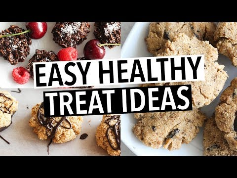 EASY HEALTHY DESSERT & TREAT RECIPES - MY NAUGHTY HEALTHY RECIPES!