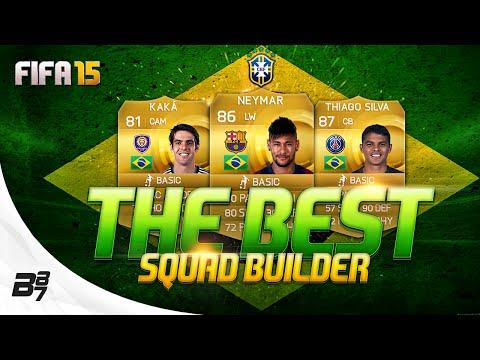 THE BEST! BRAZIL SQUAD BUILDER w/ NEYMAR | FIFA 15 Ultimate Team