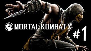 MORTAL KOMBAT X - Parte 1: GUERRA! [ 60FPS - Playstation 4 - Dublado em PT-BR ]