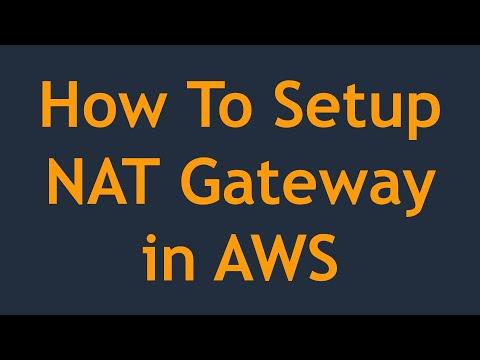 Setup NAT Gateway in AWS