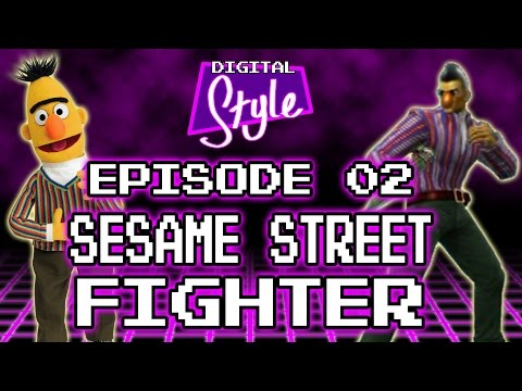 [Digital Style] Sesame Street Fighter