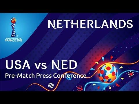 USA v. NED - Netherlands Pre-Match Press Conference