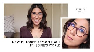 Gambar cover New Glasses Try-On Haul | EyeBuyDirect x Sofie's World