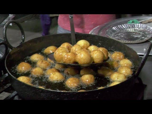 Street Food | How to Make Mysore Bajji | Mysore Bonda | VijayaWada Street Food