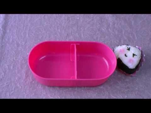 Onigiri Rice Ball Dances おどるおにぎり Bento Box