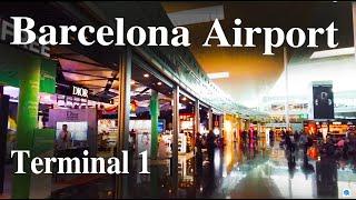 Barcelona-el prat airport terminal t1 ...