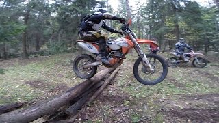 Enduro Attack on the Wood