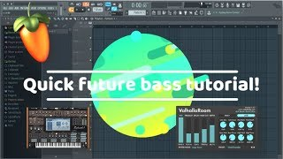 How to get started creating future bass! (Very simple!) + Free FLP!