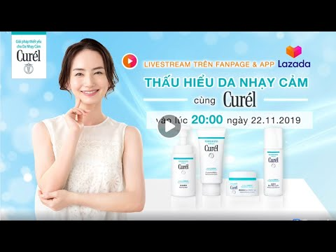 Thấu hiểu da nhạy cảm - BS Nguyễn Phương Thảo trò chuyện cùng nhãn hàng Curel (Nhật Bản)