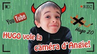 QUAND HUGO S'EMPARE DE LA CHAÎNE YOUTUBE DE MAMAN! INVERSION DES RÔLES #2 -ANGIE LA CRAZY SÉRIE thumbnail