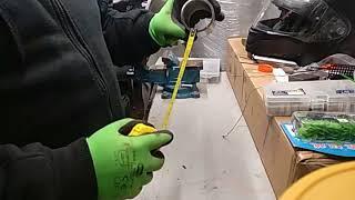Саморобна годівниця для риболовлі без свинцю ''човник''