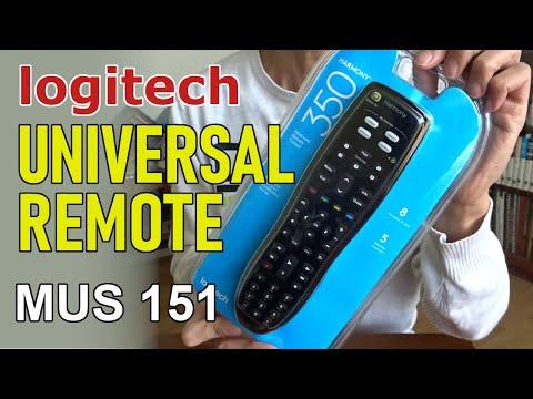 Universal Remote Control - Harmony 350 (MUS 151)