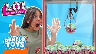 Reto LoL Surprise Serie 2 con La Garra Challenge l Juguetes Sorpresa LoL Surprise y Maquina La Garra