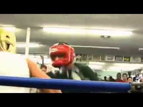 Manny Pacquiao vs Mayweather Sparring match - YouTube