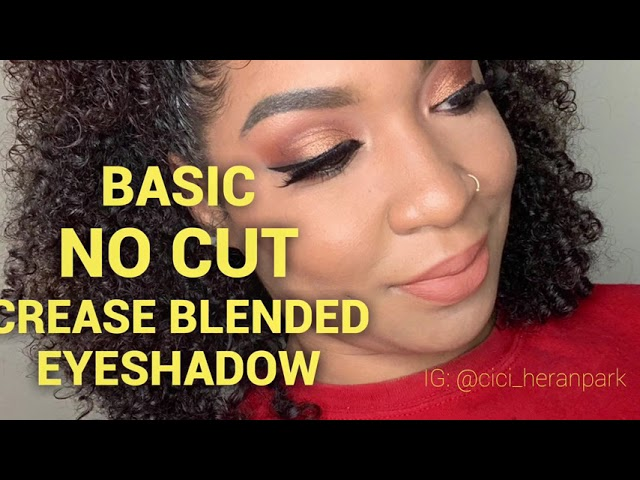 Basic Everyday Eyeshadow l Morphe 35V Stunning Vibes l Gold & Brown Day look l GRWM l No Cut Crease