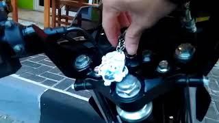 Suara Knalpot Racing WRX Oval K2 K150 pakai DB Killer di Motor Suzuki Satria Fu Fi Injeksi