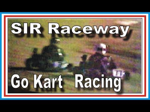 Southern Illinois Raceway  Go Kart Racing On Dirt, Circle Track June 1990