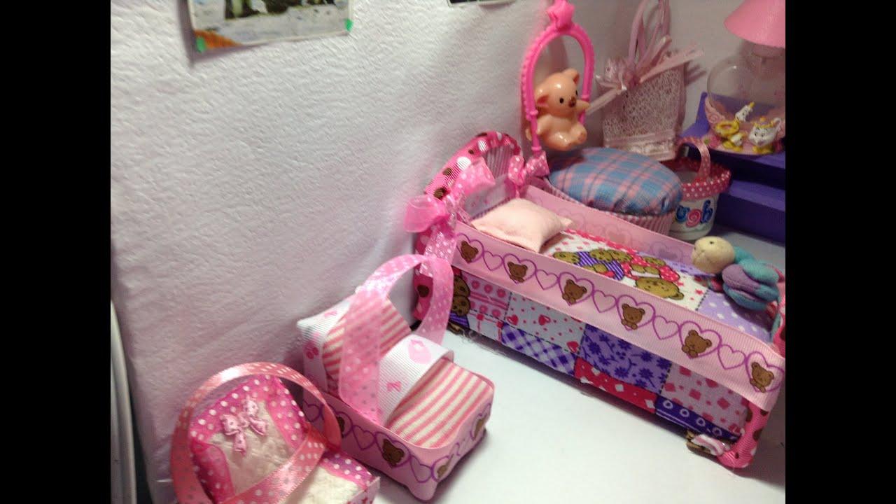 Como hacer el moises para el bebe de barbie youtube - Como hacer un cambiador para bebes ...