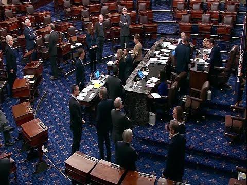 Coronavirus stimulus package hit snag in Senate