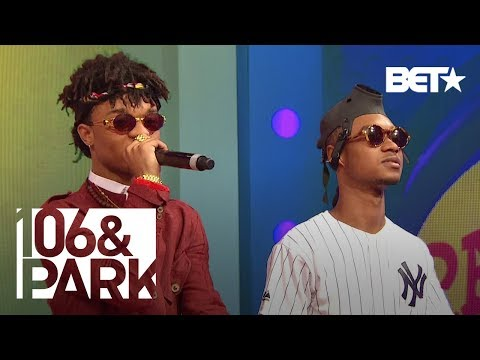 Rae Sremmurd Performs Hit Single No Flex Zone | 106 & Park