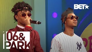 Rae Sremmurd Performs Hit Single No Flex Zone on 106 & Park!
