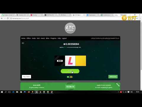 Free Litecoin Faucet Site - Claim 3 Hours - Earn Up 0.1 LTC || Bitcoin 2018