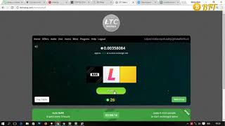 Free Litecoin Faucet Site - Claim 3 Hours - Earn Up 0.1 LTC    Bitcoin 2018