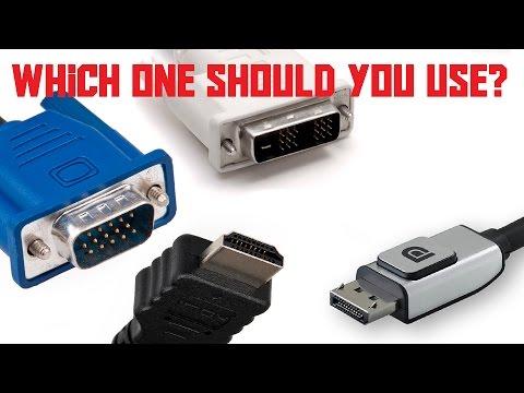 VGA Vs DVI Vs HDMI Vs DisplayPort (AKIO TV)