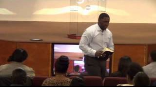 "Pastor Michael S. Parker ""He Put Me Back Together Again"""
