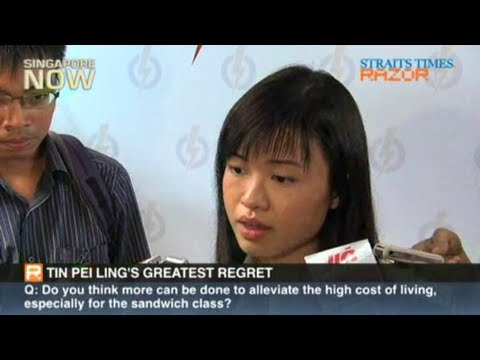 Tin Pei Ling's greatest regret