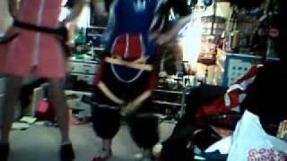 ~~WE GOT OUR KINGDOM HEARTS COSPLAYS!!!!~~Dancin