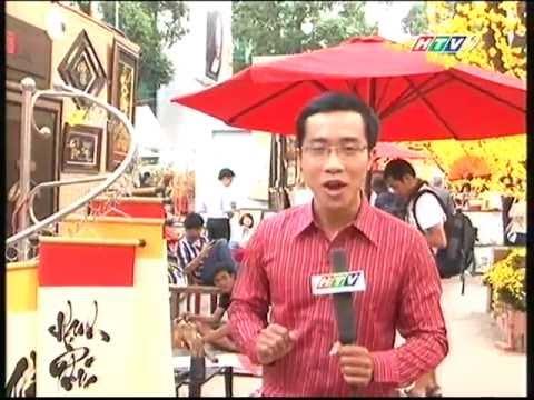 """Thư pháp Hoa Nghiêm - """" Nhịp Đập Thành Phố """" - HTV9"""