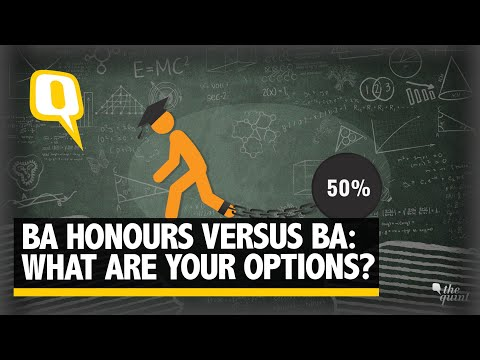 Dilemma of choosing between BA Honours and BA Programme