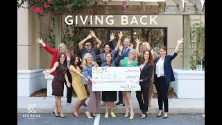Giving Back | Kendrick Law Group & Hope for More Foundation