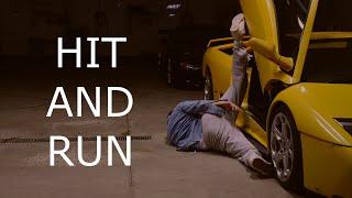 Someone hit my Lamborghini... and RAN.