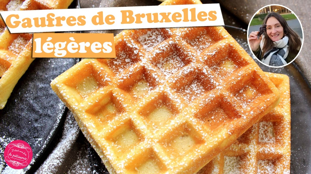 Cuisine Bernard Gaufres Waffles Brussels Light And Easy Live From Belgium