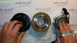 Шкив компрессора кондиционера MITSUBISHI Outlander, Lancer 45487