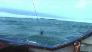 Lifting anchor , Bering sea style!!