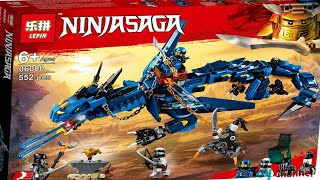Lắp Ráp Lego Ninjago Rồng Sấm Sét Của Jay Hãng Lepin Ngon Rẻ Toy Channel