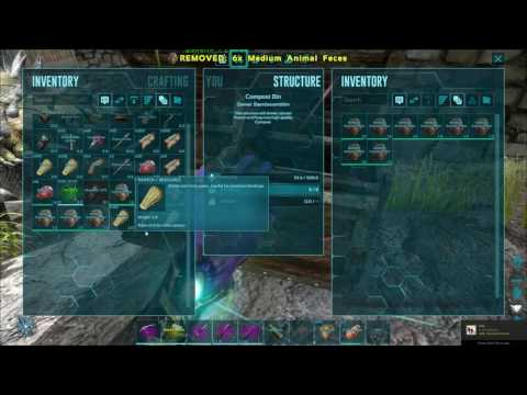 How To Make Fertilizer With Compost Bins Ark Survival Evolved You